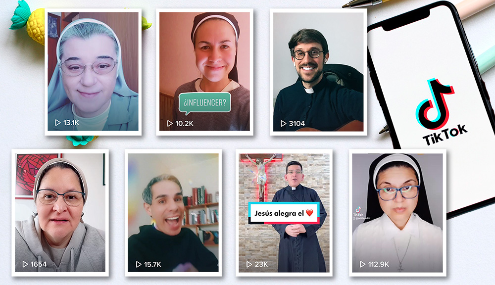 TikTok y religión: siete cuentas católicas que tienes que seguir