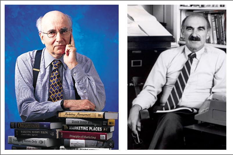 Philip Kotler y Theodore Levitt marketing