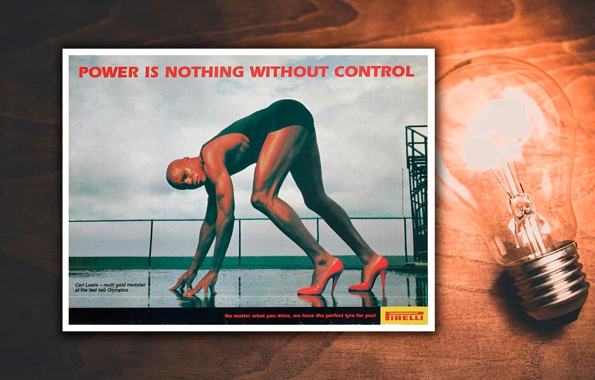 anuncio pirelli potencia control estrategia marketing acciones